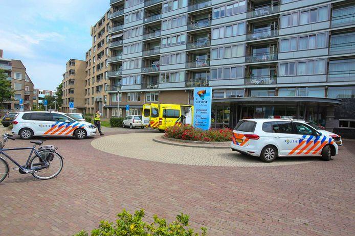 Man steekt zichzelf in woonzorgcentrum Helmond.