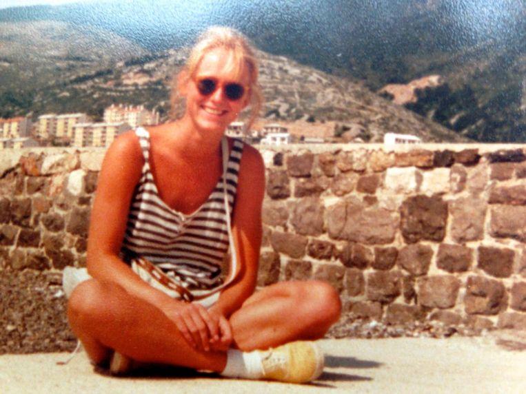 Antoinette Hertsenberg in 1985 in wat toen nog Joegoslavië heette. Beeld