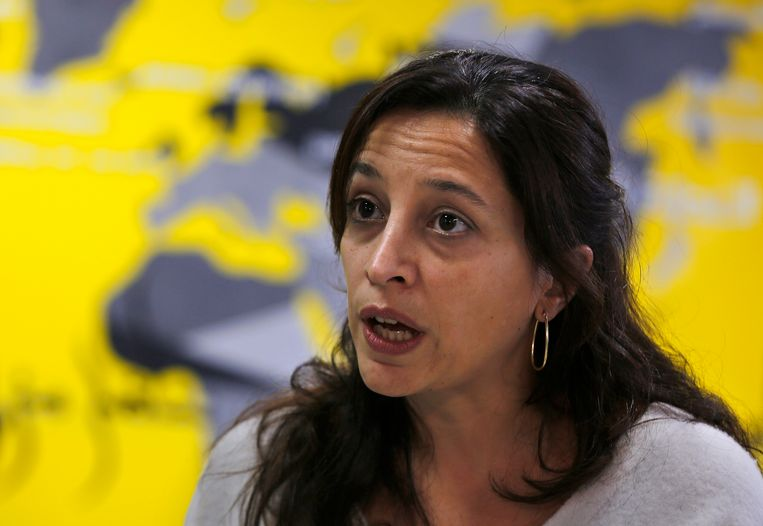 """Iraakse vrouwen en kinderen van wie verondersteld wordt dat ze banden hebben met IS, worden gestraft voor misdaden die ze niet hebben begaan"""", zegt Lynn Maalouf, Amnesty's onderzoeksdirecteur voor het Midden-Oosten."""