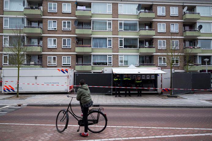 In 2016 werd fietsenmaker Temel Kobya doodgestoken in zijn zaak in de Jan Tooropstraat in West.