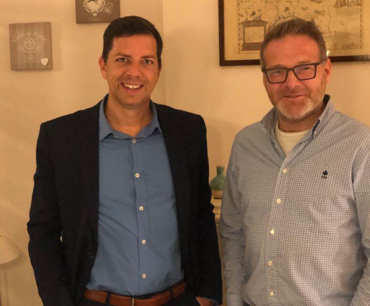 Dave Froidcoeur en Ignace Dewael
