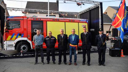 Nieuwe materiaalwagen voor brandweer