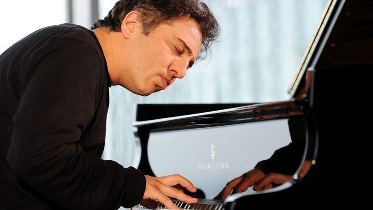 De Turkse pianist Fazil Say. Beeld EPA