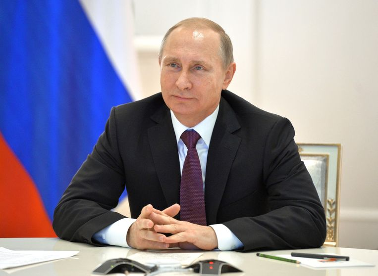 Vladimir Poetin. Beeld ap