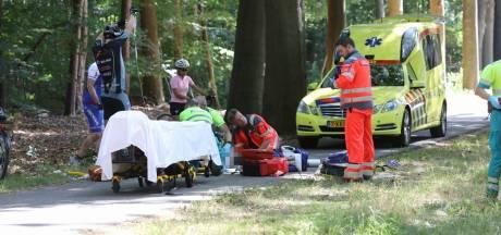 Vrouw valt van fiets in Baarn, traumahelikopter opgeroepen