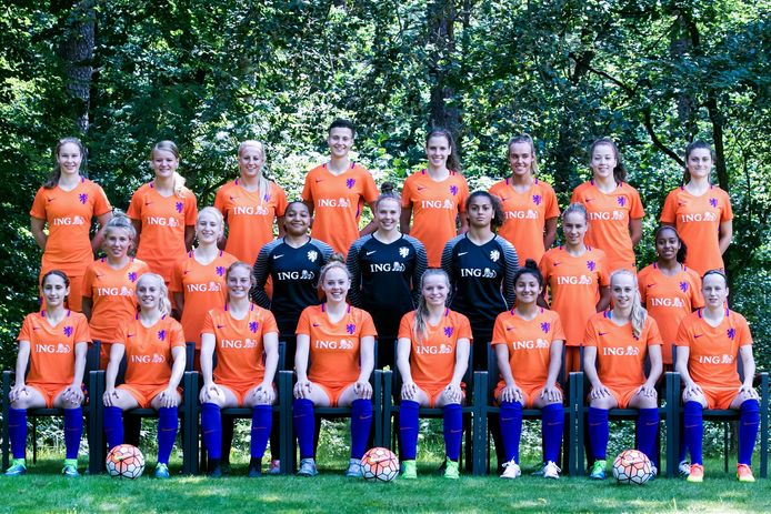 Oranje onder 19.