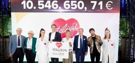 Plus de 10,5 millions d'euros récoltés pour la 32e édition du Télévie