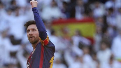 Messi kon in 2013 naar Real, maar beklaagt het zich met een nieuw weekloon van 2 miljoen euro (!) allerminst