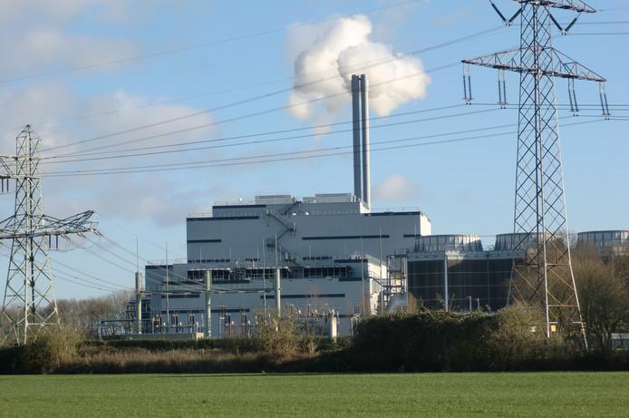 De SUEZ-afvalverbrander aan de Potendreef in Roosendaal. Op dit terrein wordt een proefinstallatie voor de pyrolyse (verhittingsproces) van afval gebouwd.