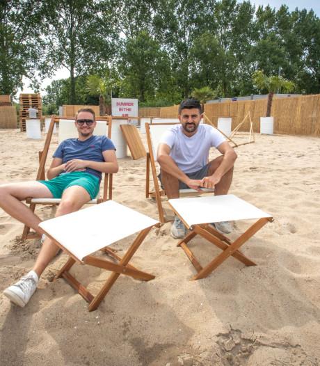 Pop-up beachbar in Goes gaat zaterdagavond open