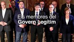 Internet straft pover gefotoshop regering-Puigdemont