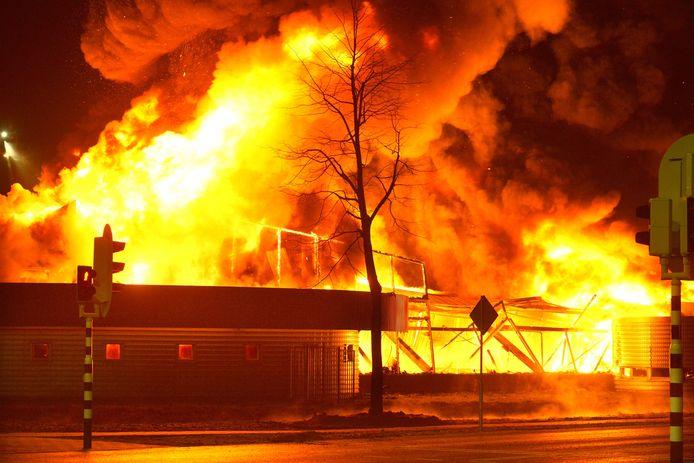 De brand in Culemborg.
