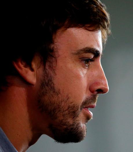 Alonso reageert verslagen na dodelijk ongeluk jonge karter