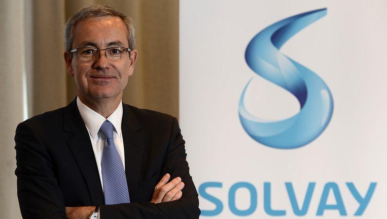Jean-Pierre Clamadieu, CEO bij Solvay.
