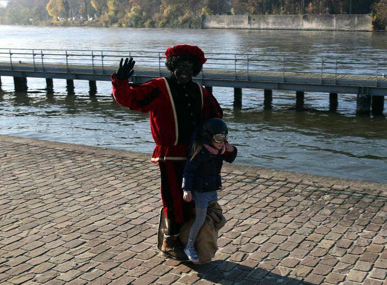 Sinterklaas en zwarte piet, modern vervoermiddel voor piet in Vilvoorde