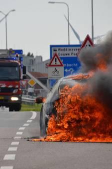 BMW uitgebrand tijdens proefritje garagemonteur