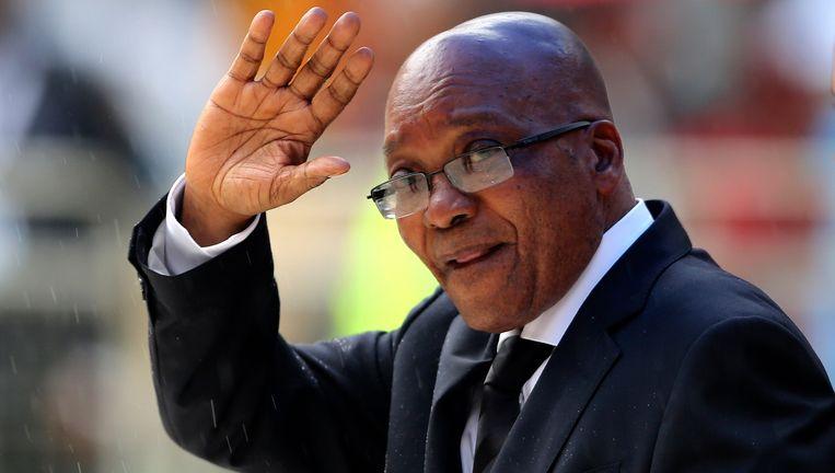 De Zuid-Afrikaanse president Jacob Zuma. Beeld reuters