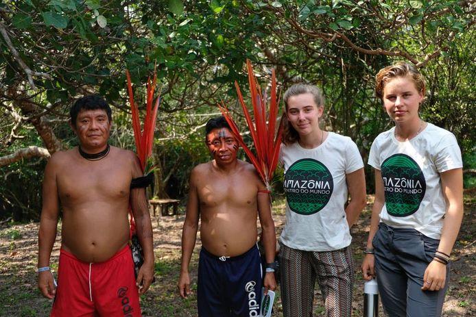 Adelaïde Charlier, membre de Youth For Climate (YFC), s'est rendue en Amazonie pour échanger notamment avec des dirigeants autochtones, des habitants de la forêt, des activistes de l'environnement et des spécialistes du climat.