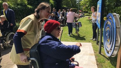 Buurtpad rond woonzorgcentrum Releghem op maat van mensen met dementie