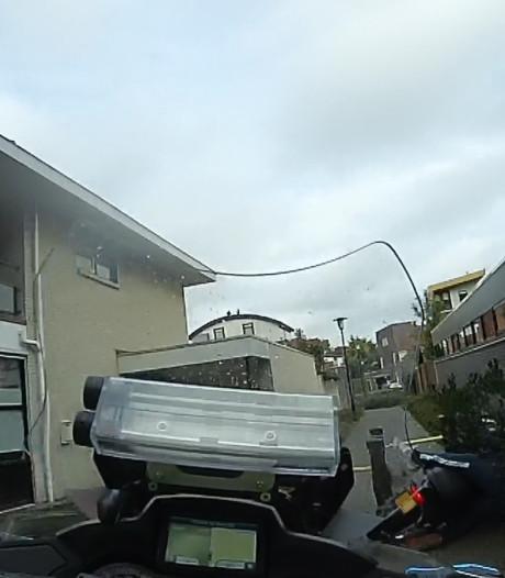 Ontsnappingspoging mislukt: scooterrijder (17) uit Waalwijk lapt alle regels aan laars