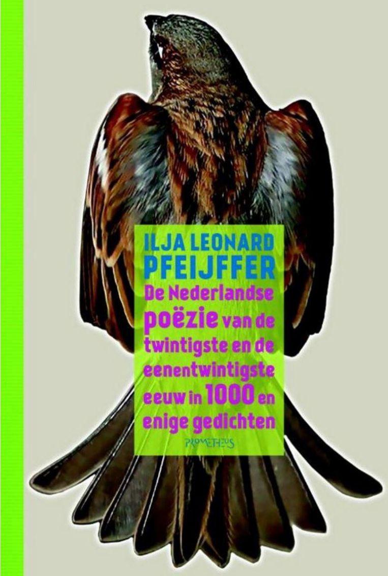 Ilja Leonard Pfeijffer - De Nederlandse poëzie van de twintigste en eenentwintigste eeuw in 1000 en enige gedichten. Beeld RV