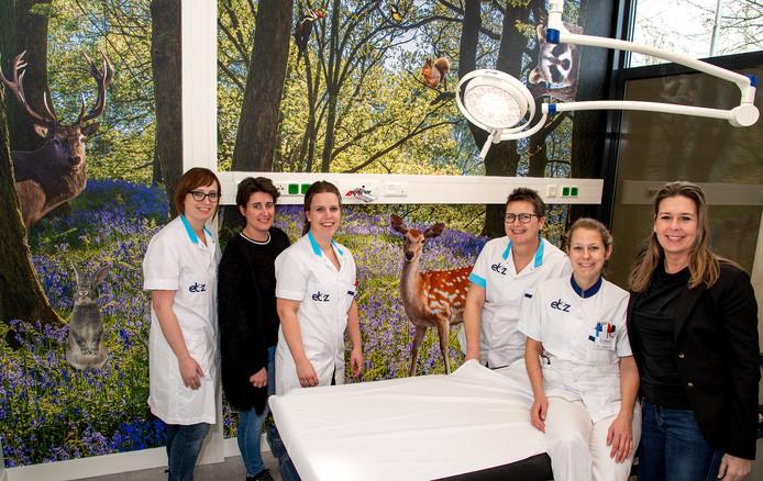 De kinderkamer op de nieuwe fasttrack-afdeling op het Elisabeth-TweeSteden Ziekenhuis in Tilburg, locatie Elisabeth.