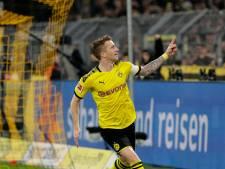 Reus leidt Dortmund langs koploper Mönchengladbach