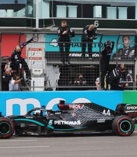 Hamilton égale le record de victoires de Schumacher lors du GP de l'Eifel