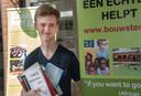 Xavier Friesen slaagde dit schooljaar dubbel cum laude aan het Stedelijk Gym in Nijmegen.