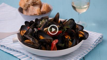 Instant vakantiegevoel: pittige mosselen à la provençale