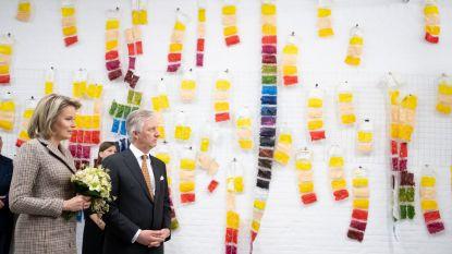 """Vorstenpaar bezoekt Duffels Kunstencentrum en Liers begijnhof: """"Een speciale gebeurtenis"""""""