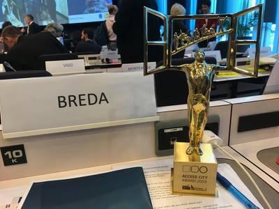 Breda wint Europese prijs als meest toegankelijke stad