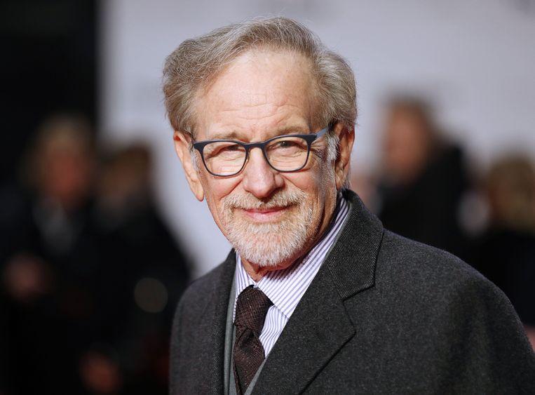 Steven Spielberg op de première van 'The Post' in Londen.
