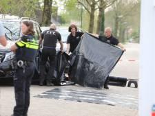 Woning van Miranda Zitman in Soest afgeplakt door politie