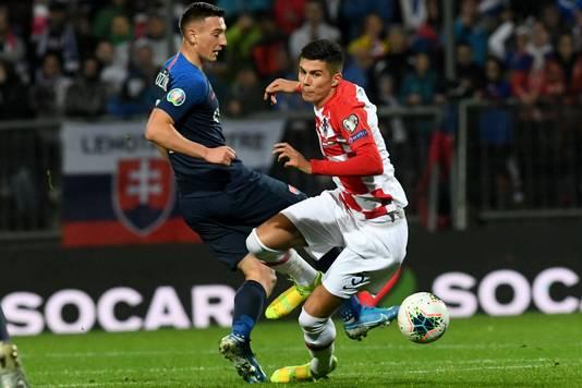 Bozeník tegen Kroatië.
