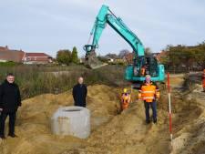 Op NINO-terrein in Nordhorn, eens een kolenhaven, komen nu 18 bungalows