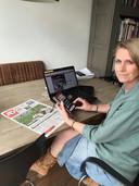 Rennie Rijpma, managing editor AD en de Regionale kranten