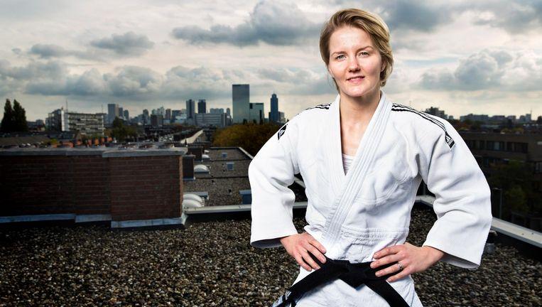 Juul Franssen kan vanwege de trainingsregels van de judobond niet meedoen aan WK's of de Olympische Spelen. Beeld Hollandse Hoogte