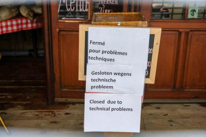 Restaurant Amadeo werd in de zomer ook al gesloten