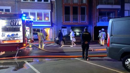 Brand vernielt 's nachts appartement in Knokke-Heist
