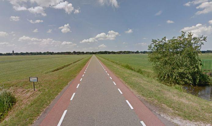 De Volkersweg in Eemnes.