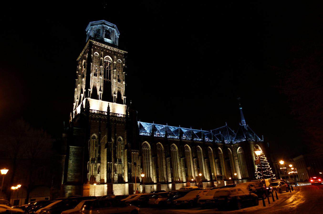 De Grote of Lebuinuskerk in Deventer.