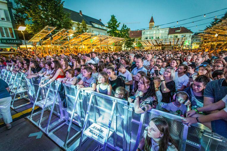 Vorig jaar stond Bart Peeters op de main stage van het festival.
