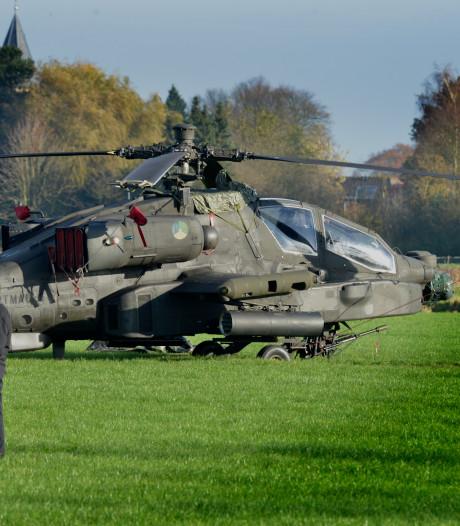 Verkeerschaos in Zoelmond na Apache-crash leert: duidelijke omleiding nodig