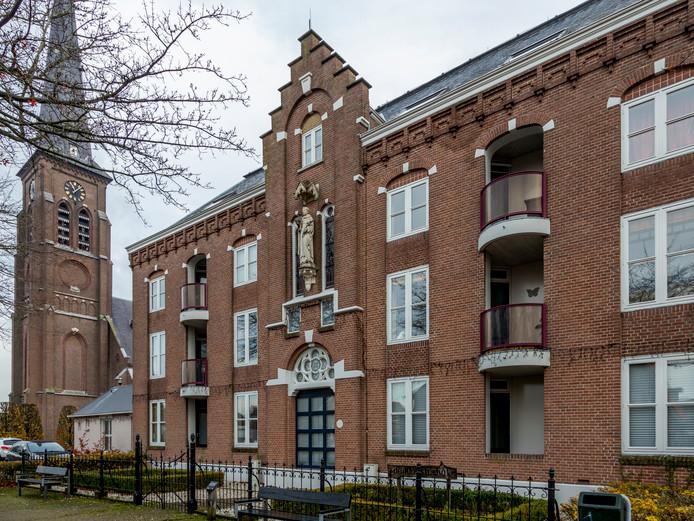 Woningcorporatie Sint Joseph gaat de appartementen in Kloosterhof in Liempde vernieuwen. Twaalf kleine appartementen worden in 2020 acht grote woningen.