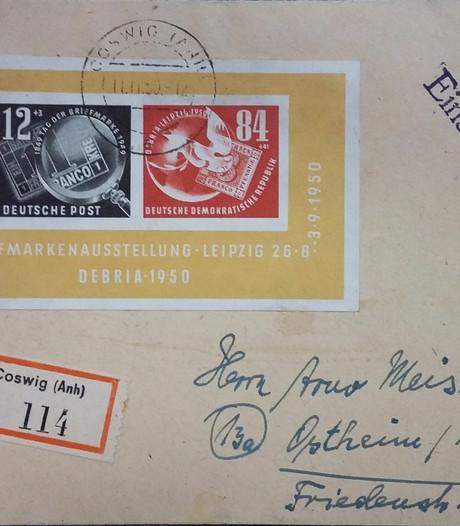 Jarige postzegelclub houdt jubileumveiling