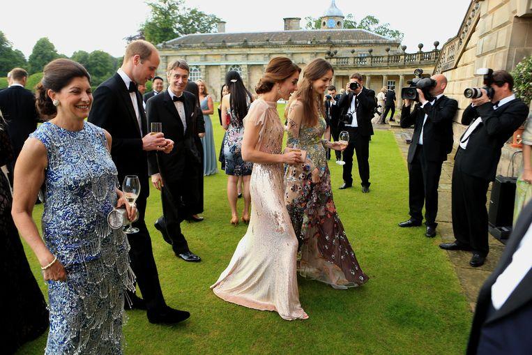 Rose Hanbury en Kate Middleton