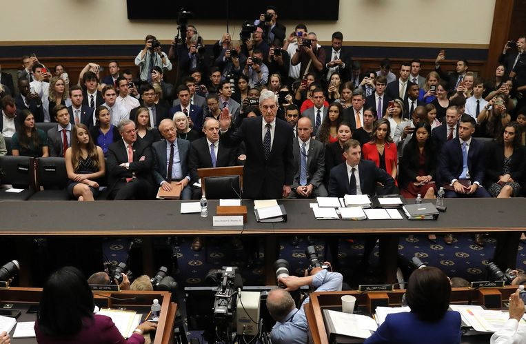 Mueller leverde zijn langverwachte getuigenis in het Congres af.