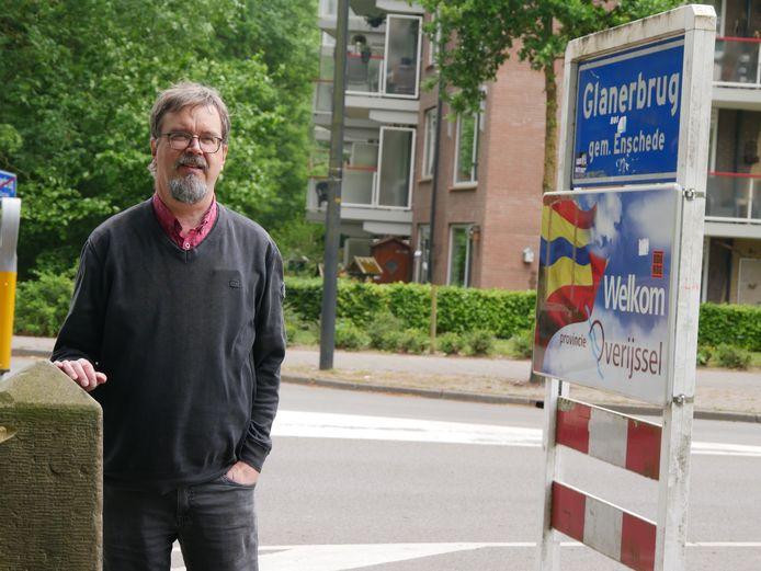 Redacteur Martin Borck van de Westfalische Nachrichten.