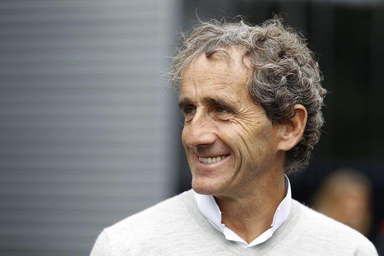 Alain Prost tijdens de Formule 1 Grand Prix van Oostenrijk in 2015 Beeld epa